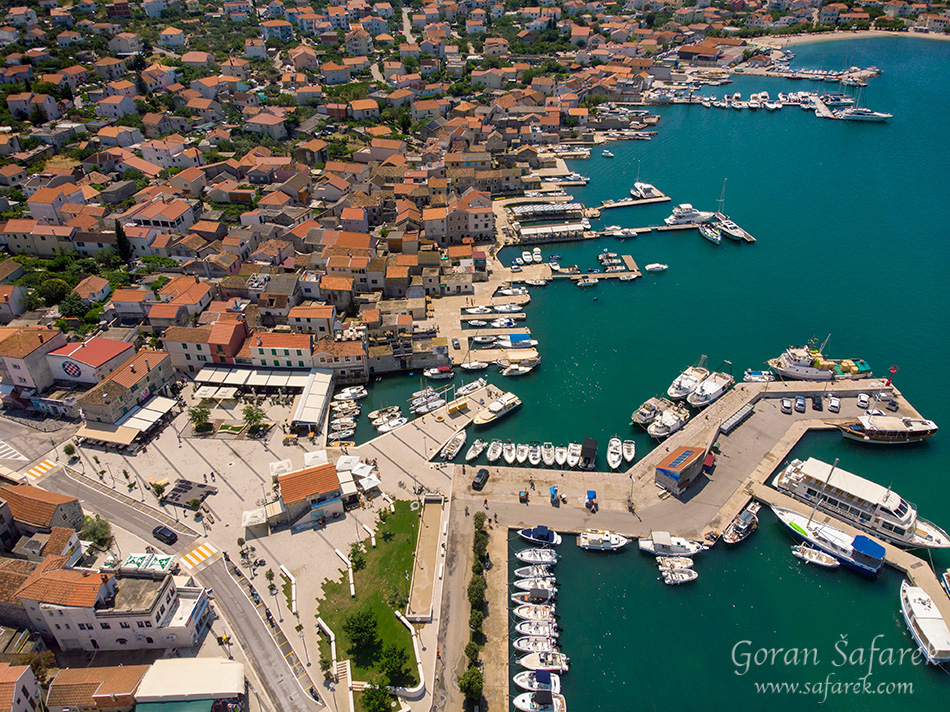 Murter town, Croatia, Adriatic
