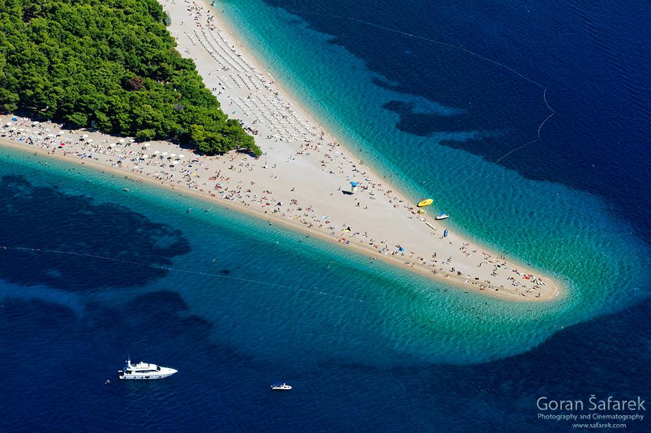 croatia, top 10 beaches, adriatic sea, coast, zlatni rat, brač,bol
