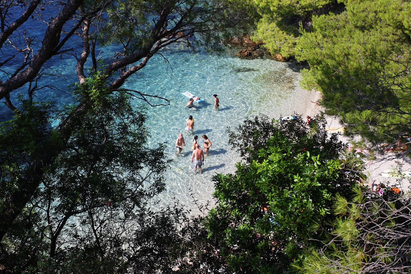 croatia, top 10 beaches, adriatic sea, coast, žuljana, pelješac