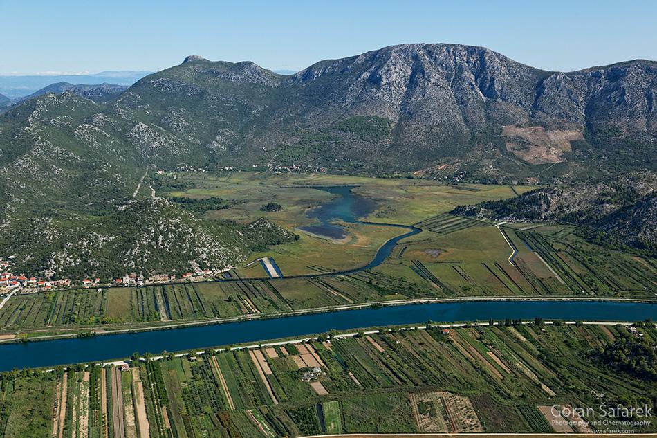 croatia, neretva, delta, adriatic, sea, opuzen, river