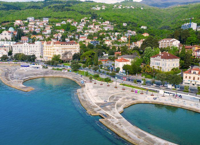 Opatija, Croatia, kvarner, adriatic sea