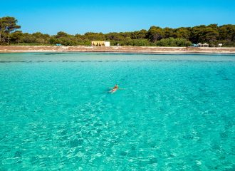 dugi otok, sakarun, adriatic sea, croatia, sand beach