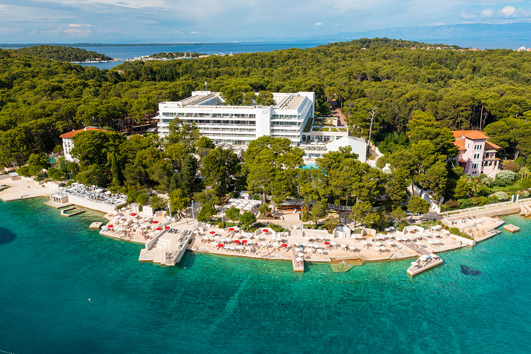 mali lošinj, mali losinj, croatia, adriatic sea, adriatic coast, hotel