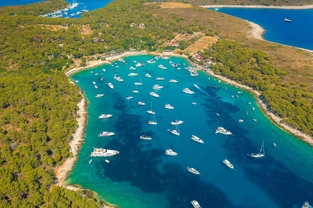 Pakleni islands, Paklinski islands, Hvar Island, Croatia, Adriatic Sea