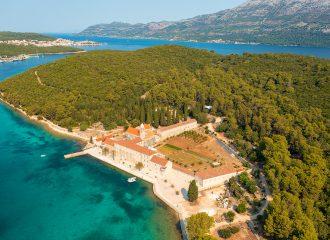 badija, korcula, korčula, croatia, adriatic sea, adriatic coast