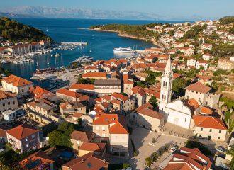 Jelsa, hvar, hvar island, croatia, adriatic coast, adriatic sea
