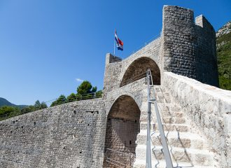 ston, walls, peljesac, croatia, adriatic sea,